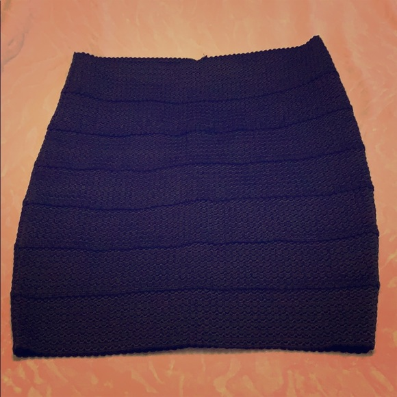Womens black skirt, size medium